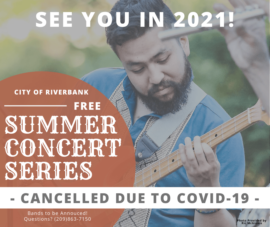 Summer Concert Series Cancelled