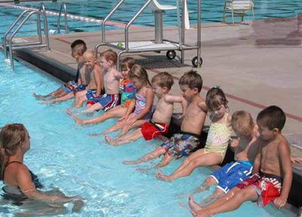 Swim Lessons in a Row