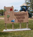Community Center Park Sign
